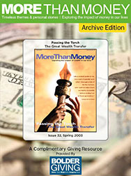 Passing the Torch: The Great Wealth Transfer