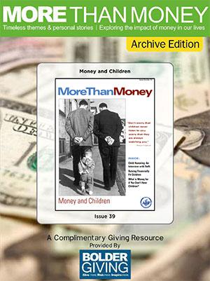 Money and Children