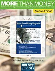 More Than Money Magazine